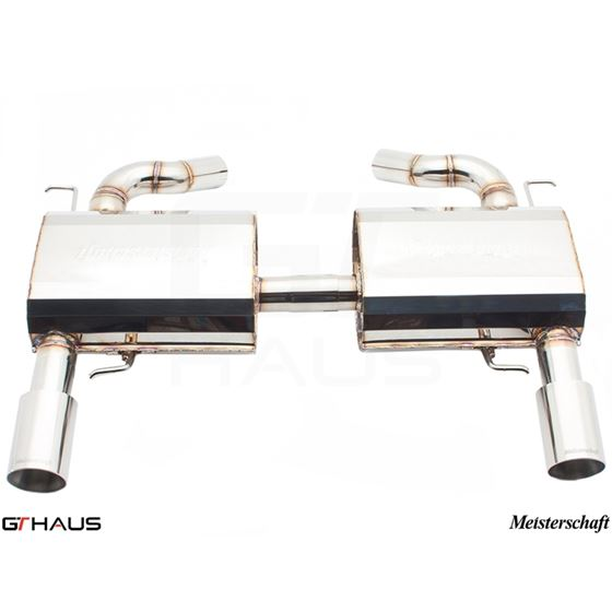 GTHAUS HP Touring Exhaust- Stainless- BM0411103-3