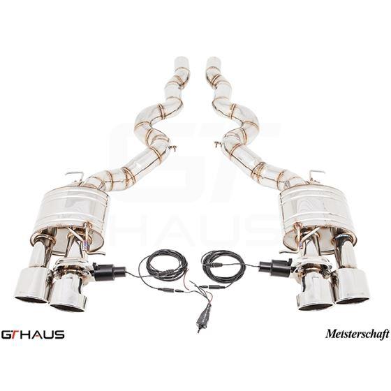 GTHAUS GTC Exhaust (EV Control)- Stainless- BM12-3