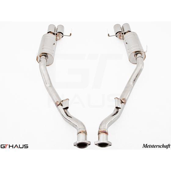 GTHAUS GT Racing Exhaust- Stainless- BM2011204