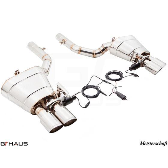 GTHAUS GTC Exhaust (EV Control)- Stainless- BM1121